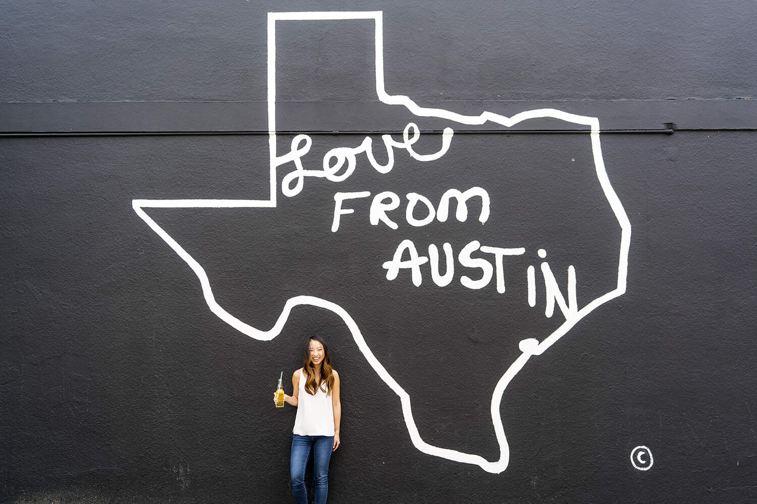 Love From Austin Mural in Austin