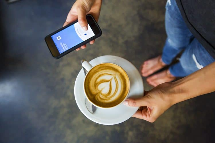 PayPal app, National Coffee Day
