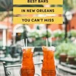 Best Bars in New Orleans You Can't Miss
