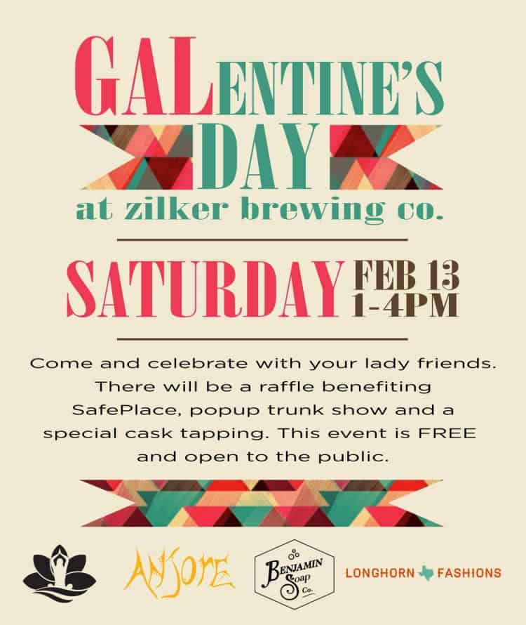 Galentine's Day Zilker Brewing Co