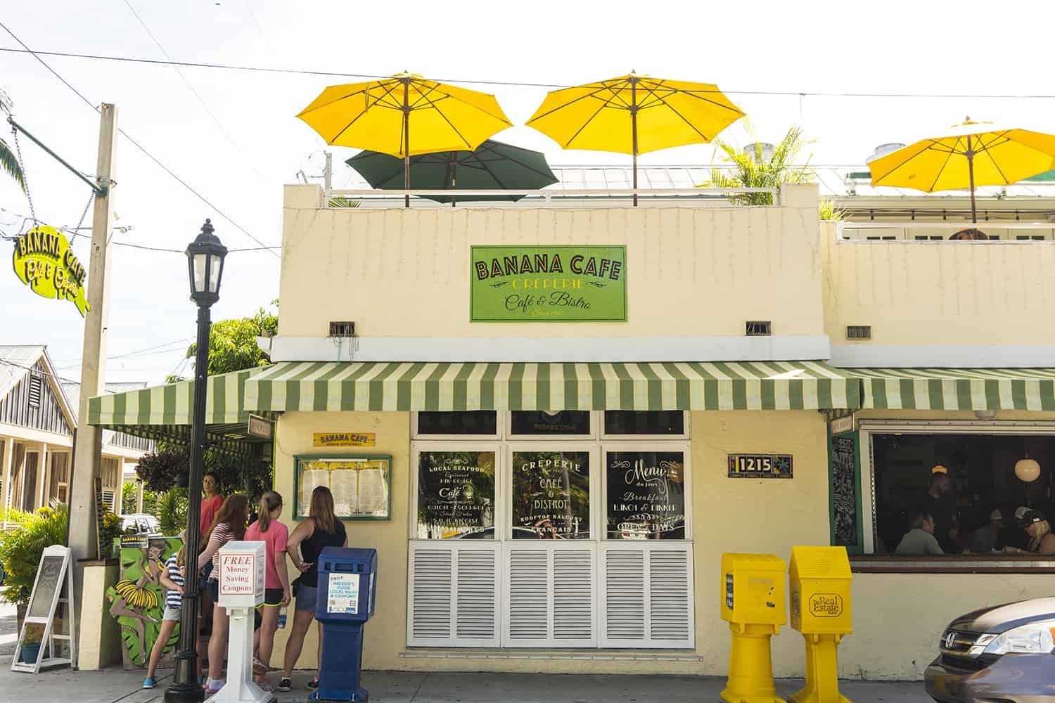 Banana Cafe in Key West