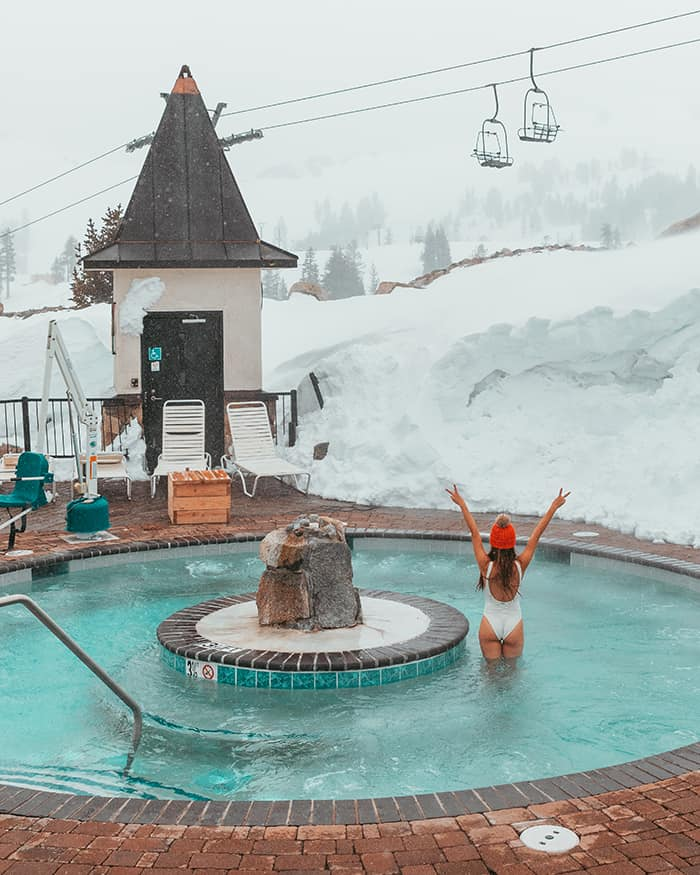 Hot tub squaw valley