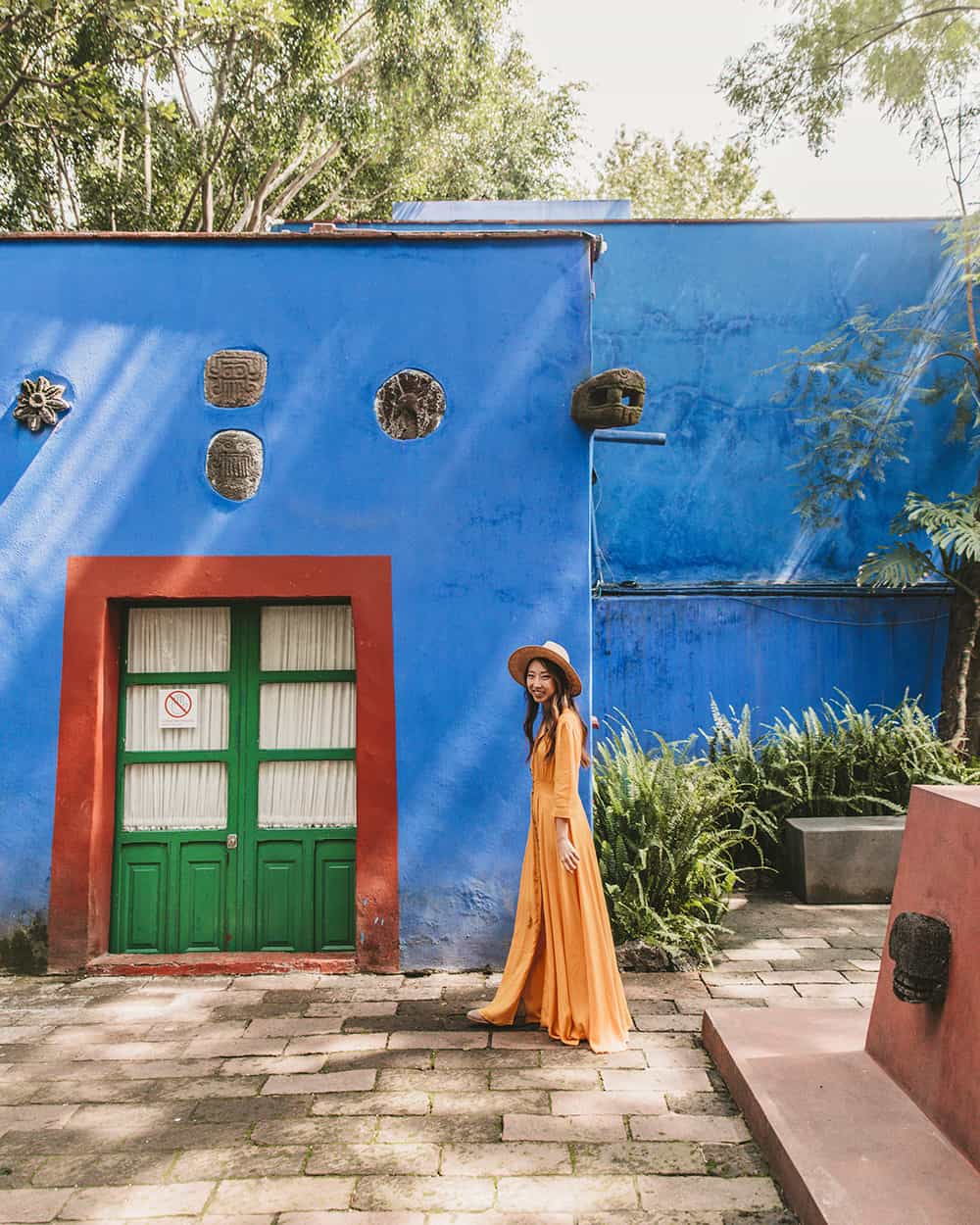 Frida Kahlo Museum in Coyoacán Mexico City