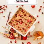 Winter Baked Oatmeal