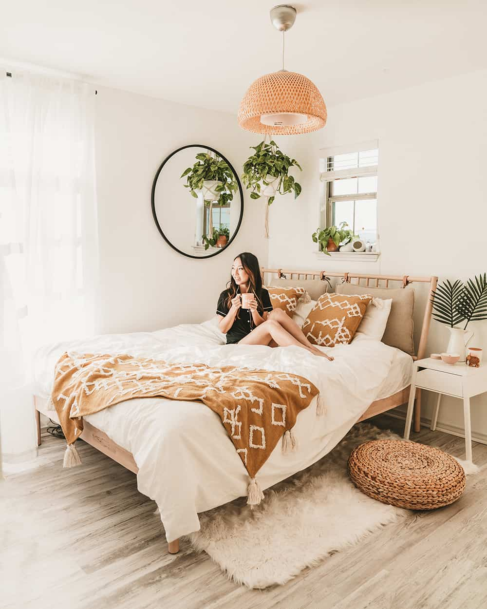 IKEA Bedroom Makeover For Under $9  A Taste of Koko
