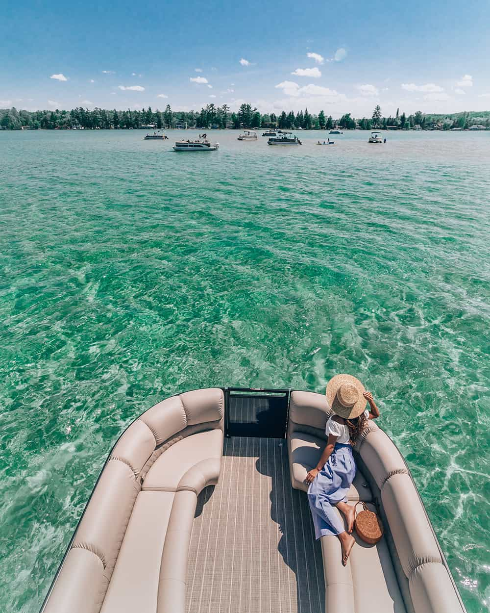 Torch Lake in Michigan