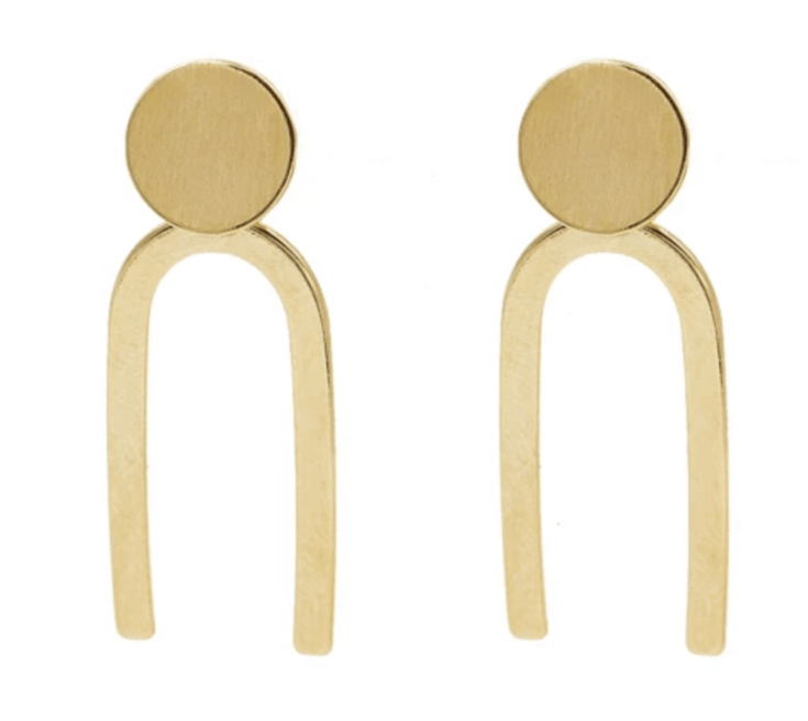 Amanda Deer Arch Earrings