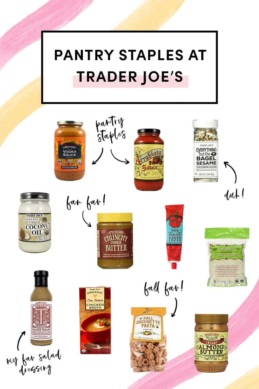 Best pantry staples at Trader Joe's